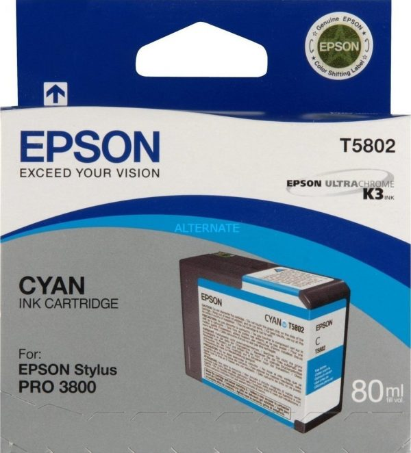 EPSON Cartridge Cyan C13T580200 C13T580200 1