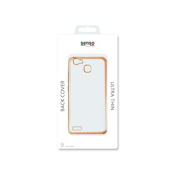 SENSO SIDE HUAWEI P8 LITE SMART gold backcover outlet SENSO SIDE HUAWEI P8 LITE SMART gold backcover outlet 1