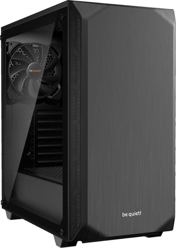 BEQUIET PC CHASSIS PURE BASE 500 WINDOW BGW34, MIDI TOWER ATX, BLACK, W/O PSU, 1X14CM PURE WINGS 2 FAN, 1X14CM REAR PURE WINGS 2 FAN, 3YW. 20190927123830 be quiet pure base 500 window black 1
