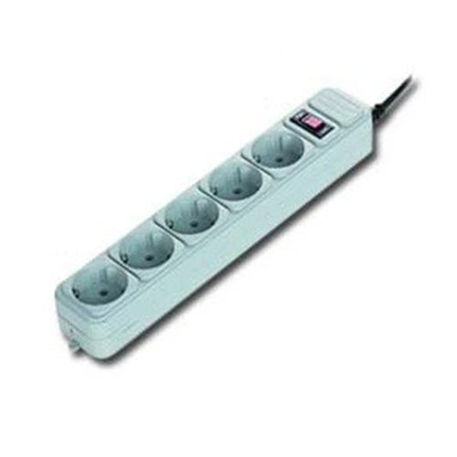 GEMBIRD POWER CUBE SURGE PROTECTOR 5 SOCKETS 1.8m WHITE