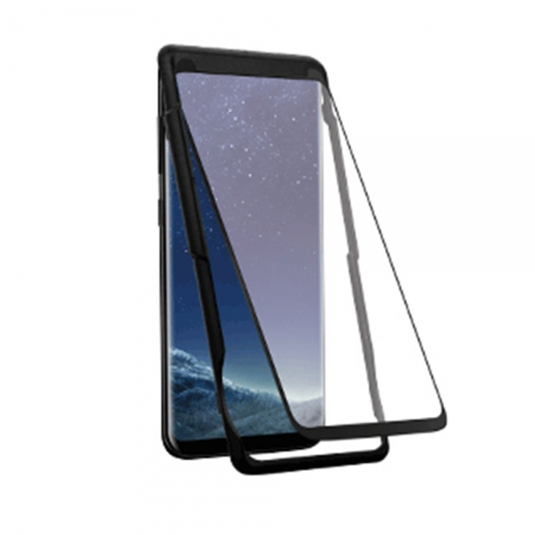 FONEX 3D JAPAN FULL FACE SAMSUNG S9 black (WITH KIT) TEMPERED GLASS