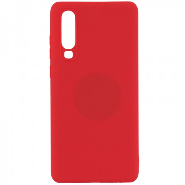 SENSO RUBBER HUAWEI P30 red backcover