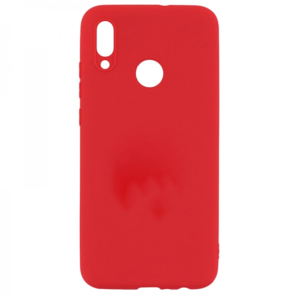 SENSO SOFT TOUCH XIAOMI REDMI NOTE 7 red backcover