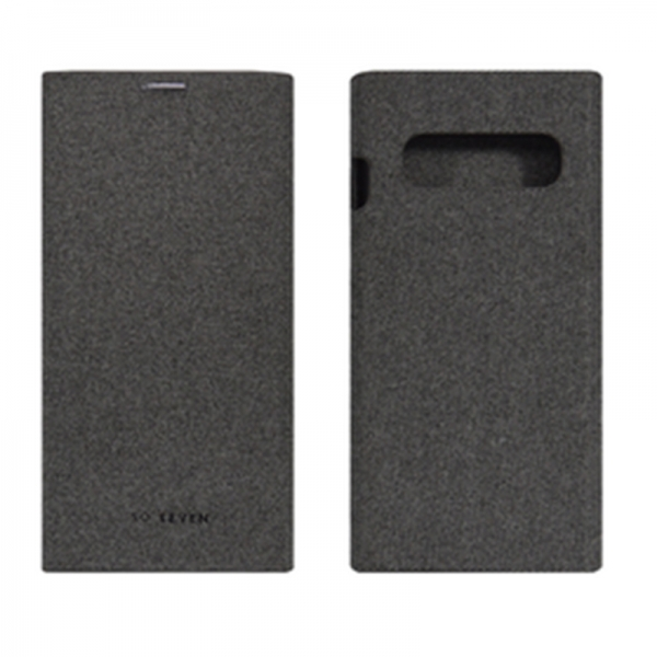 SO SEVEN GENTLEMAN BOOK SAMSUNG S10 grey