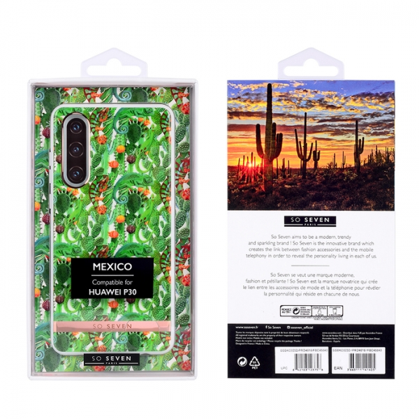 SO SEVEN MEXICO CHAMELEON HUAWEI P30 backcover