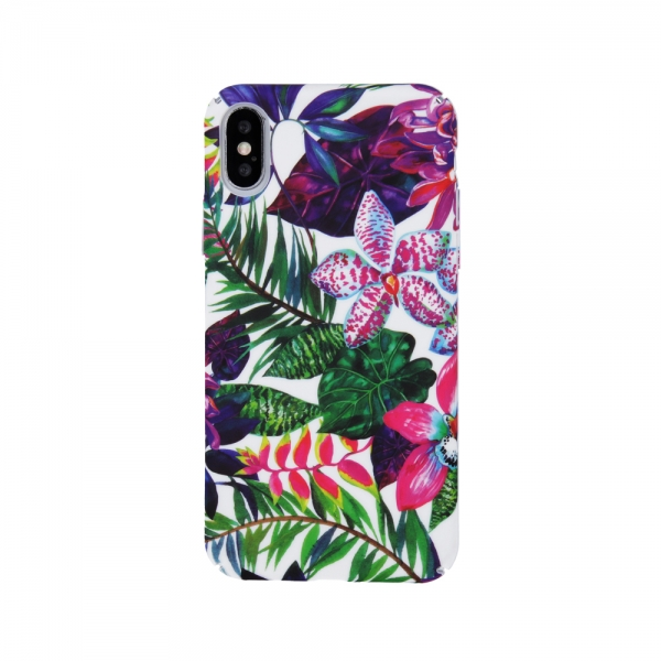 SPD 2 SENSO PC CASE FLOWER3 HUAWEI Y6 2019 SPECIAL EDITION backcover
