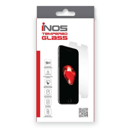 Tempered Glass Full Face inos 0.33mm Apple iPhone 8/ iPhone 7 3D Λευκό