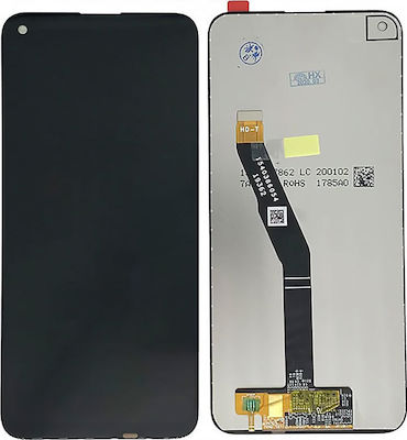 LCD with Touch Screen Huawei P40 Lite E P20 Lite (2019) / Y7p Black (OEM) Οθόνη με Touch Screen Huawei P40 Lite E Y7p Μαύρο OEM 1