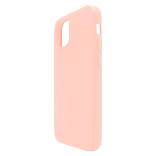 Liquid Silicon inos Apple iPhone 12 Pro/ iPhone 12 Max L-Cover Salmon Pink