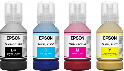 EPSON Ink Bottle Yellow C13T49H400 EPSON Ink Bottle Yellow C13T49H400 1