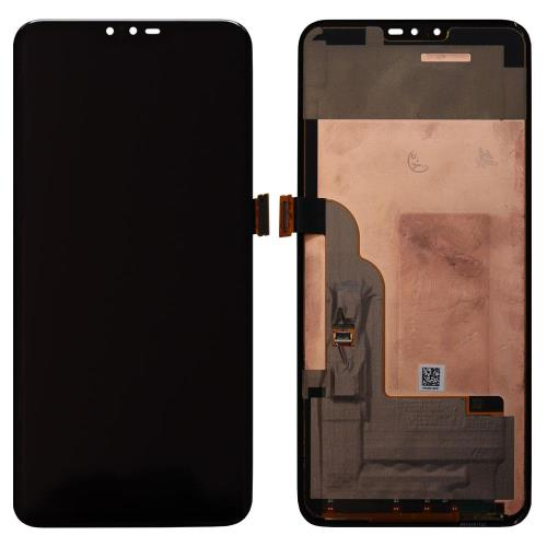 LCD with Touch Screen LG V40 ThinQ Black (OEM)
