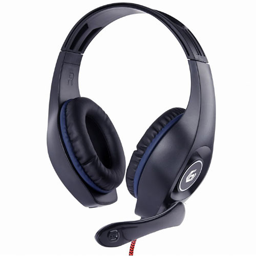 GEMBIRD GAMING HEADSET WITH VOLUME CONTROL PC/PS4 BLUE-BLACK