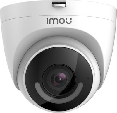 "IMOU IP CAMERA TURRET IPC-T26EP, OUTDOOR, 1/2.7"" 2M CMOS, ICR, H.265/H.264, FHD 2MP (30FPS), 16X DIGITAL ZOOM, 2.8MM LENS, IR 30M, DC12V, 2,4GHZ WIFI, ETHERNET PORT, IP67, MICRO SD, MIC&SPEAKER, ACTIVE DETERRENCE, LIGHT & 110DB SIREN,HUMAN,2YW. IMOU IP CAMERA TURRET IPC T26EP 1"