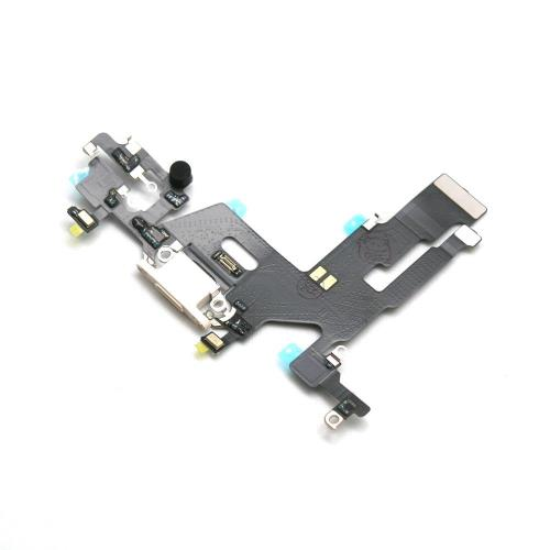 Flex Cable Apple iPhone 11 with Plugin Connector & Microphone White (OEM)