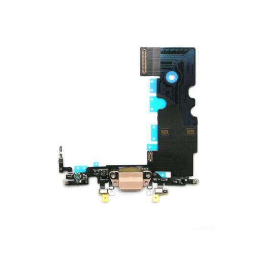 Flex Cable Apple iPhone 8 with Plugin Connector & Microphone Gold (OEM)