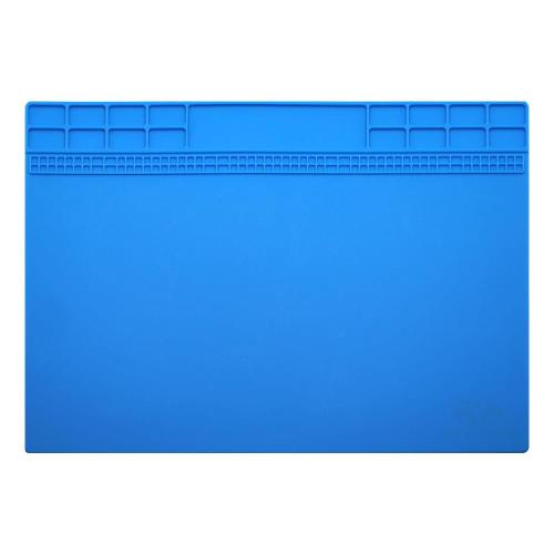 High Temperature Resistant Prescision Pad OSS with Scaleplate 35x25cm Blue