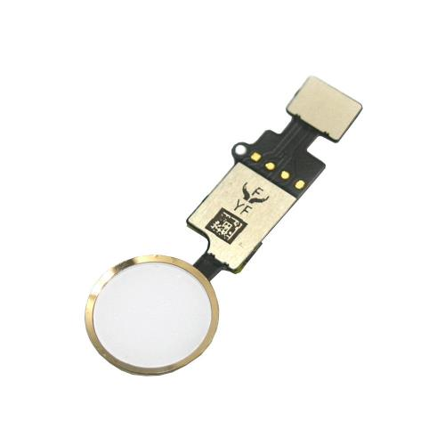 Home Button Flex Cable with Home Button Apple iPhone 7/ 7 Plus/ 8/ 8 Plus with Active Return Function Gold (OEM)