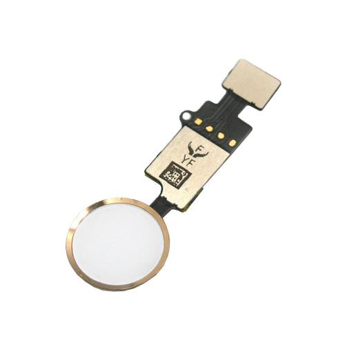 Home Button Flex Cable with Home Button Apple iPhone 7/ 7 Plus/ 8/ 8 Plus with Active Return Function Rose Gold (OEM)