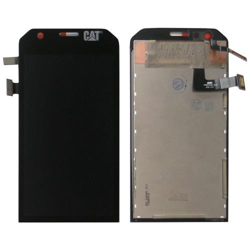 LCD with Touch Screen Cat S31 Black (OEM)