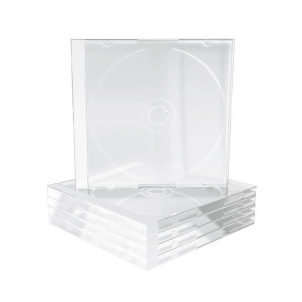 MediaRange CD Jewelcase for 1 disc 10.4mm Transparent tray (MRBOX24)