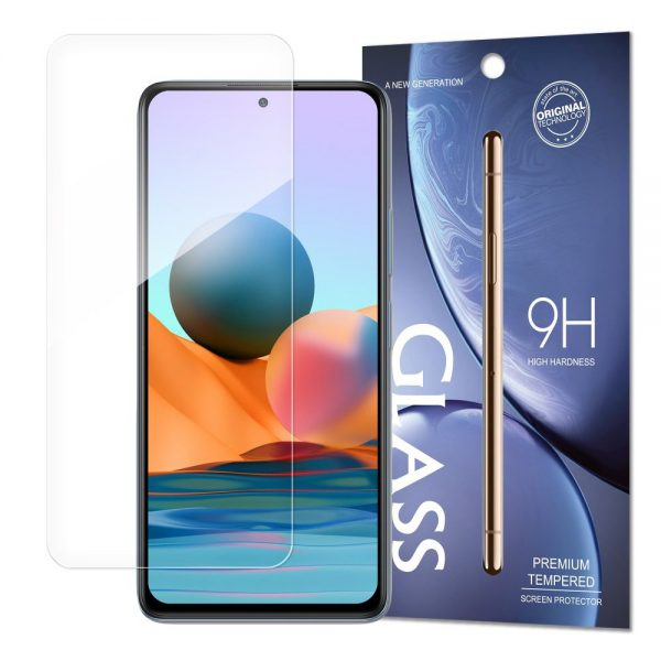 Tempered Glass 9H Screen Protector for Xiaomi Redmi Note 10 / Redmi Note 10S (packaging – envelope)