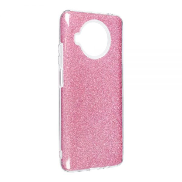 Forcell SHINING Case for XIAOMI Redmi NOTE 10 5G pink