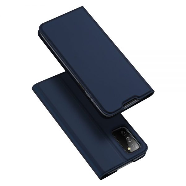 Dux Ducis Skin Pro Bookcase type case for Samsung Galaxy A03s blue