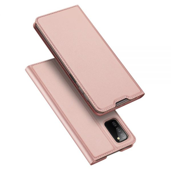 Dux Ducis Skin Pro Bookcase type case for Samsung Galaxy A03s pink