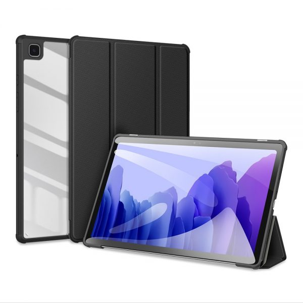 Dux Ducis Toby armored tough Smart Cover for Samsung Galaxy Tab A7 10.4'' 2020 with a holder for stylus pen black