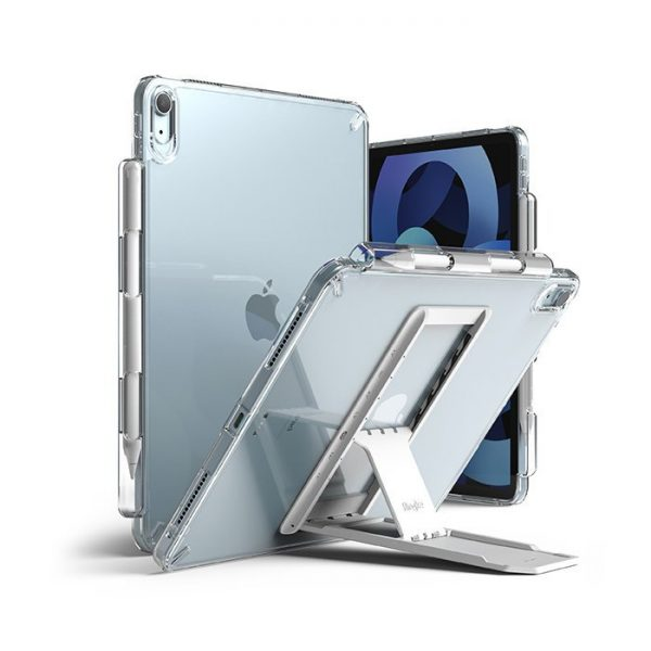 RINGKE iPad Air 4th 2020 10.9' / ALL GEN FUSION COMBO w OUTSTANDING* CLEAR (LIGHT GRAY 1P)